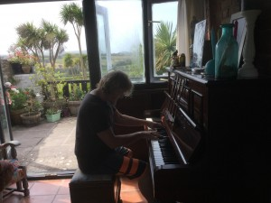 Piano with a Seaview