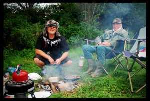 Me & my Dad camping