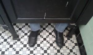 America's smallest loo!